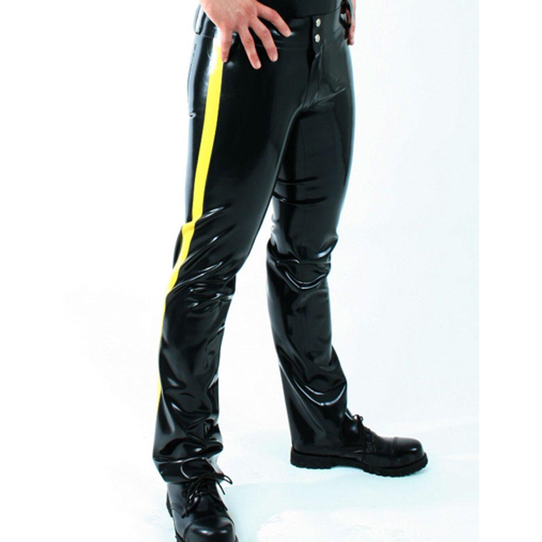 Latex Herren Jeans �Basic� - Latexst�rke 0,60 mm - Gro�e M