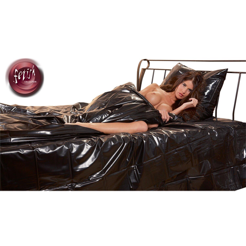 Lack Bettdecke Bettdeckenbezug - 135 x 200 cm - Schwarz