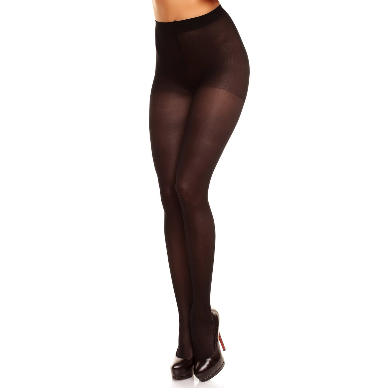 Glamory Strumpfhose »Vital 40« - Stützend Schwarz Größe 3XL