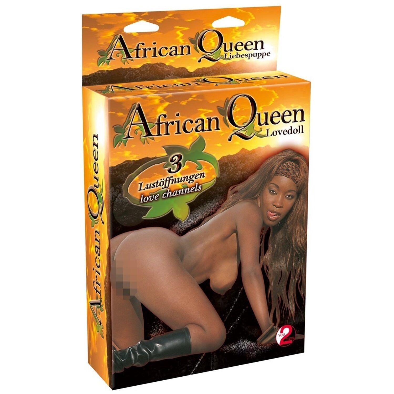 Liebespuppe »African Queen« - Dunkelhäutig und ...