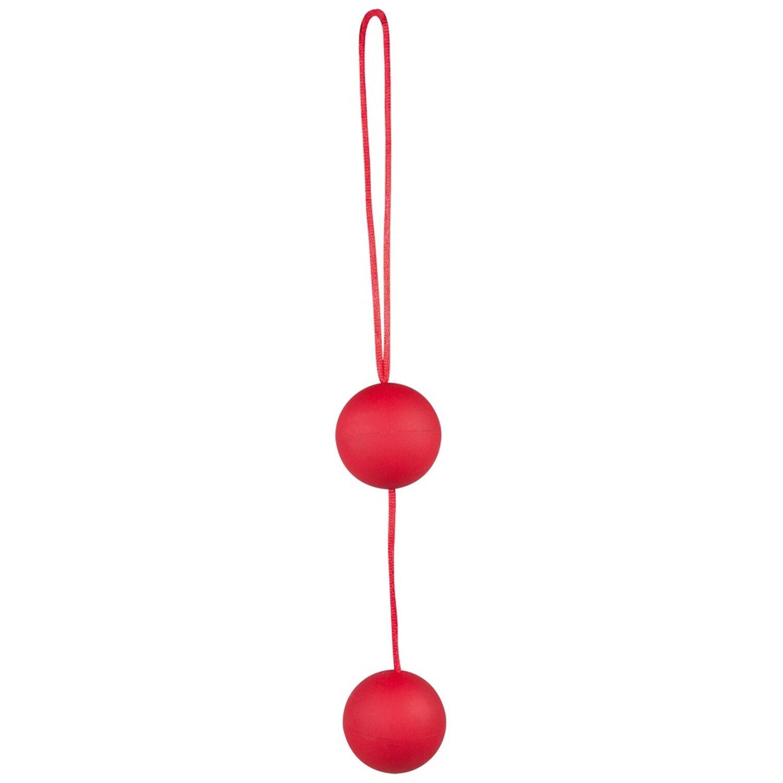 Liebeskugeln »Velvet Red Balls« - Duo - Rot