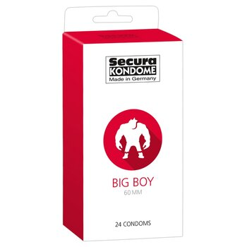 Secura Kondome »Big Boy 60 mm« - Extra Wide -...