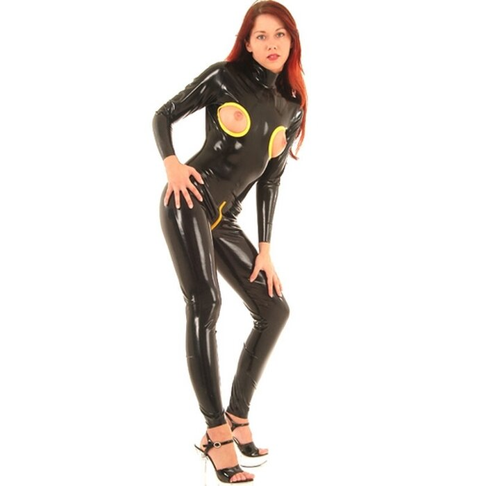 Latex Damen Catsuit »Open«