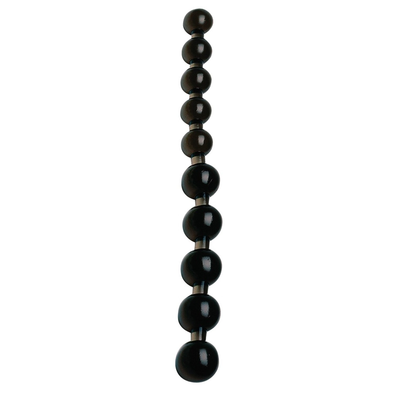 Anal Pearls - Analkugel-Stab in Schwarz