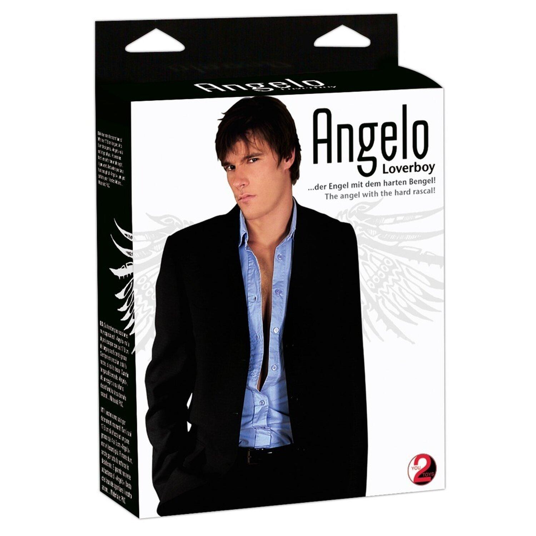 Liebespuppe »Angelo« - mit Penis für SIE