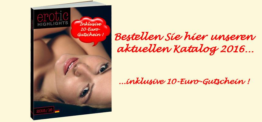 Unser Katalog 2016 plus 10-Euro-Gutschein