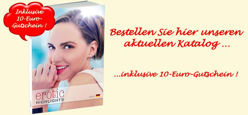 Unser neuer Katalog 2017 plus 10-Euro-Gutsche