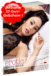 Sweet Sin Katalog 2017 inklusive 10-Euro-Gutschein