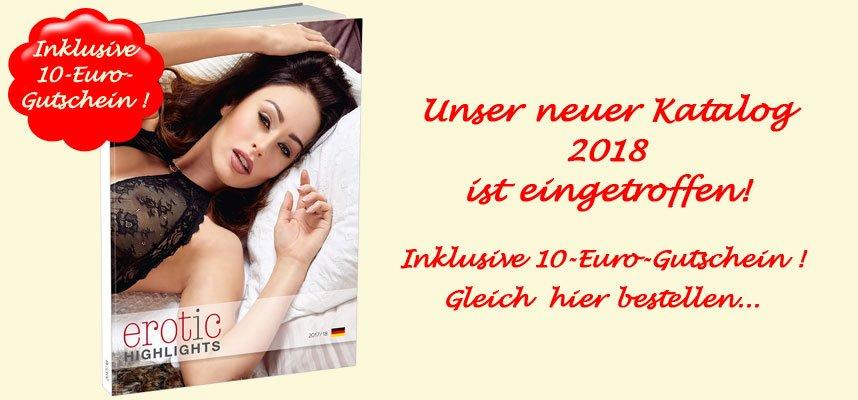 Unser Katalog 2018 plus 10-Euro-Gutschein